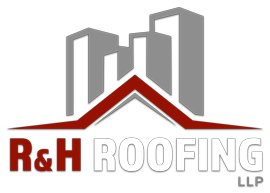 R & H Roofing logo